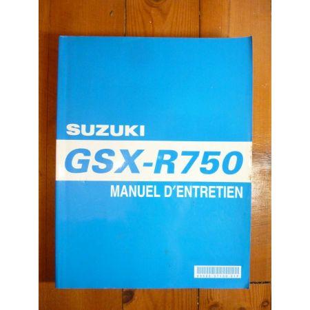 GSXR750-06 - Manuel Entretien Suzuki