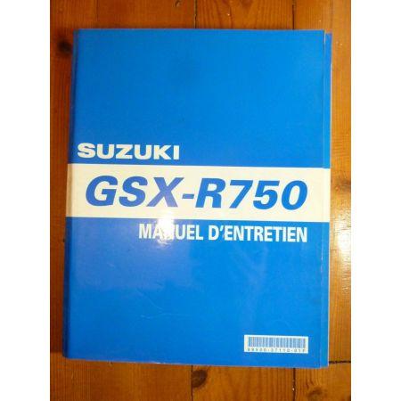 GSXR750-00 - Manuel Entretien Suzuki