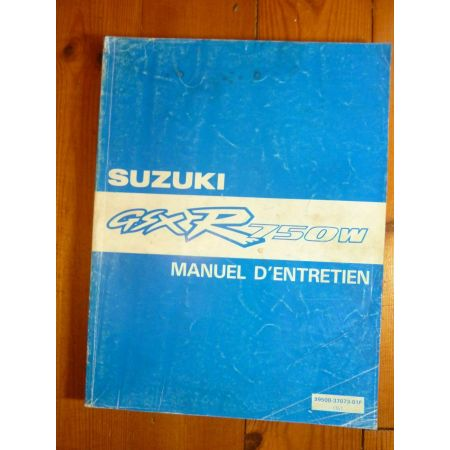 GSXR750W - Manuel Entretien Suzuki