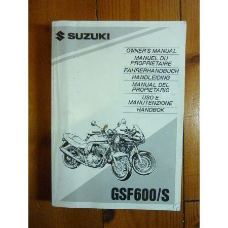 GSF600S - Manuel Propriétaire Suzuki