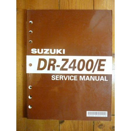 DRZ400E 99 - Service Manual Suzuki