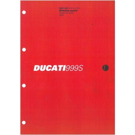 999S 2003 - Manuel Atelier Ducati Anglais