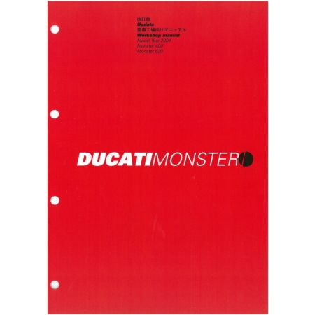 Monster 400 620 2004 MAJ - Manuel Atelier Ducati