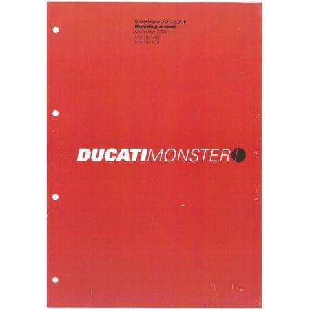 Monster 400 620 2004 - Manuel Atelier Ducati