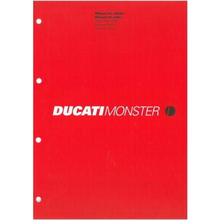 Monster 620ie 750ie 2002 - Manuel Atelier Ducati