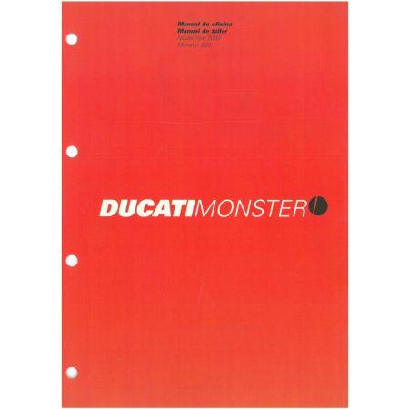 Monster 800 2003 - Manuel Atelier Ducati