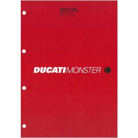 Monster 900ie 2000 - Manuel Atelier Ducati