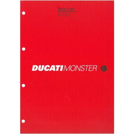 Monster 900ie 2001 - Manuel Atelier Ducati