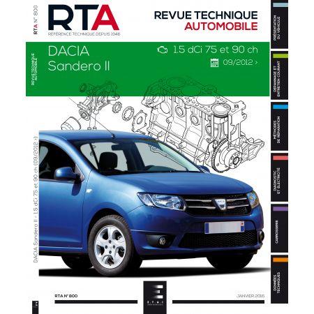 Sandero II Revue Technique Dacia