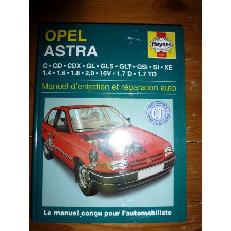 Astra Revue Technique Haynes Opel