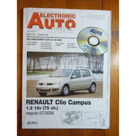 Clio Campus 06- Revue Technique Electronic Auto Volt Renault