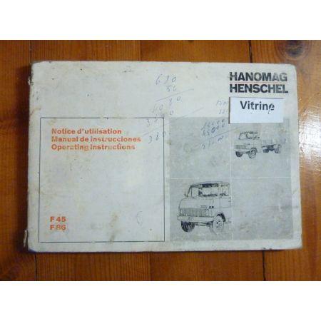 F45-F86 Manuel HANOMAG