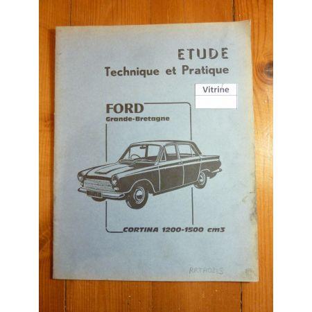 Cortina Revue Technique Ford