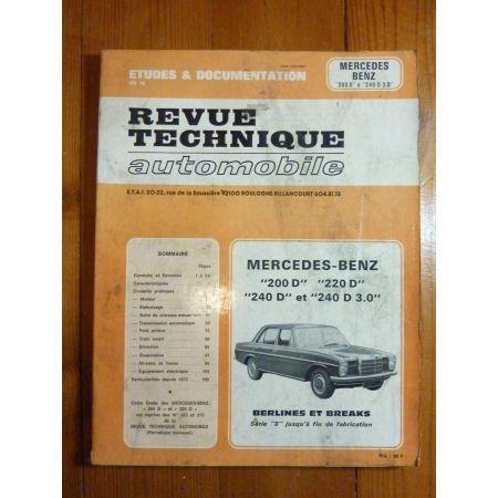 200D-240D Revue Technique Mercedes