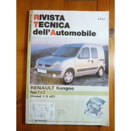 Kangoo 1-II- Revue Technique ES Renault
