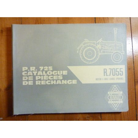 R7055 Super 7 Catalogue Pieces Renault Agricole