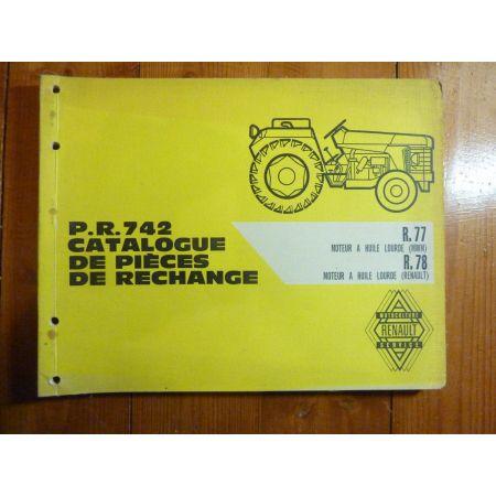 PR742 Catalogue Renault