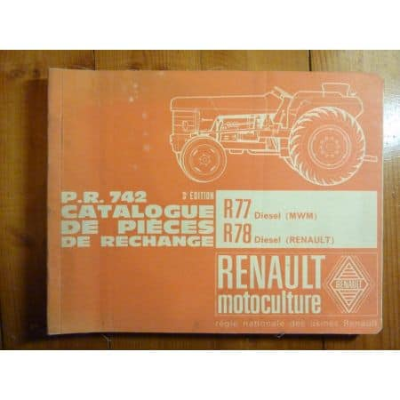 PR742 Catalogue Renault