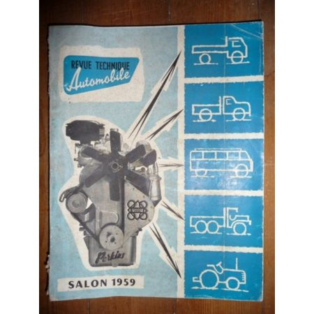 Salon 1959 Revue Technique