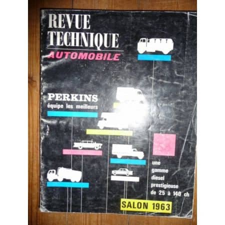 Salon 1963 Revue Technique