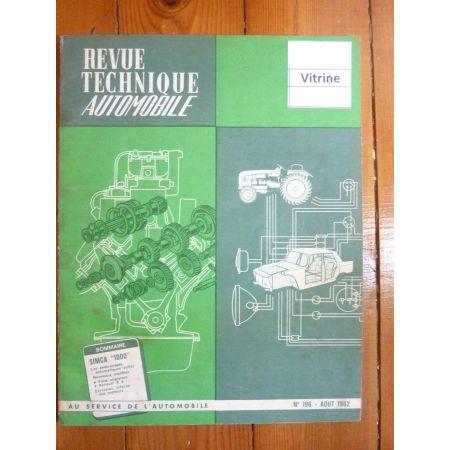 1000 Revue Technique Simca Talbot