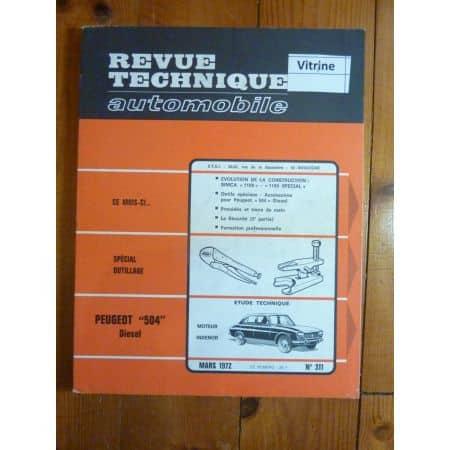 504 Die Revue Technique Peugeot