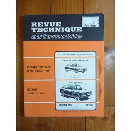 Cherry 120A Revue Technique Datsun