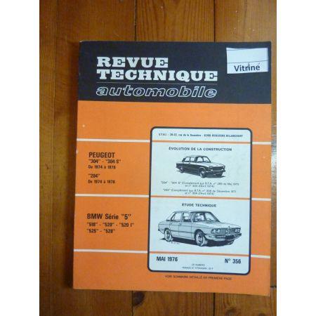 RTA Revue technique BMW SERIE 5  518 - 520 - 520 I - 525 - 528