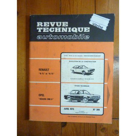 Rekord 2100 D Revue Technique Opel