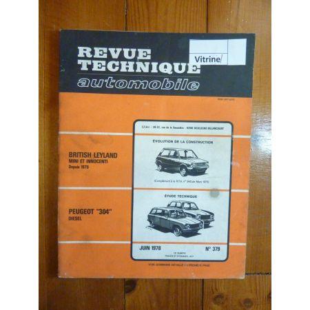 304 Die Revue Technique Peugeot