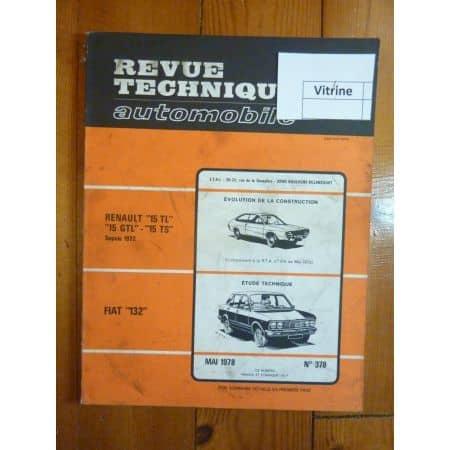 132 Revue Technique Fiat