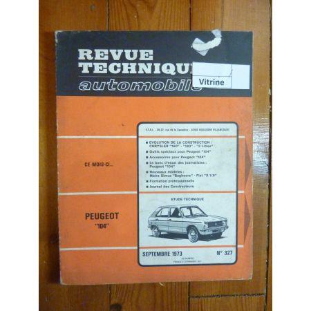 104 Revue Technique Peugeot