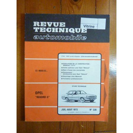 Rekord II Revue Technique Opel