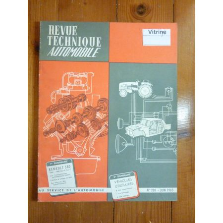580 Revue Technique Renault