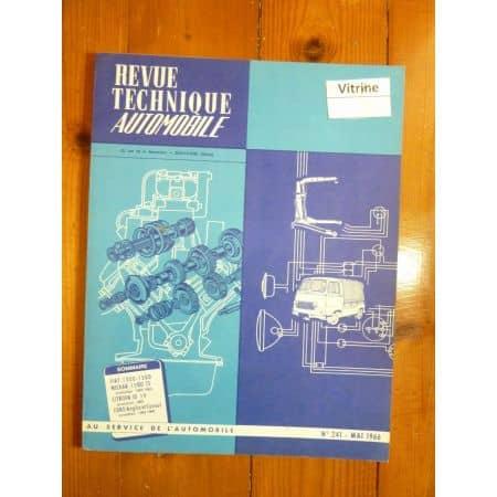 1300 1500 ID19 FORD Revue Technique Citroen Fiat