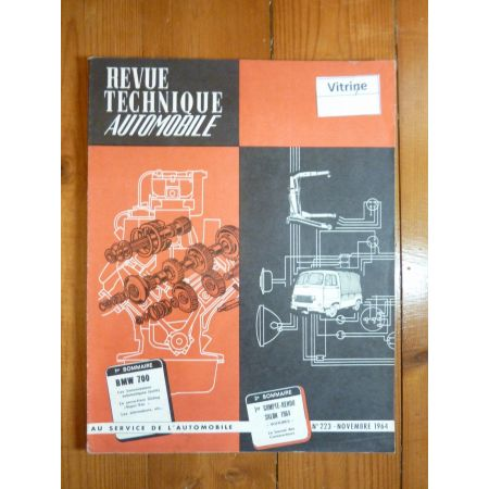 700 Revue Technique Bmw