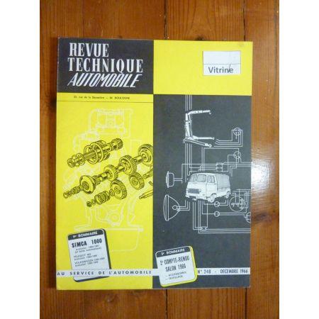1000 64- Revue Technique Simca Talbot