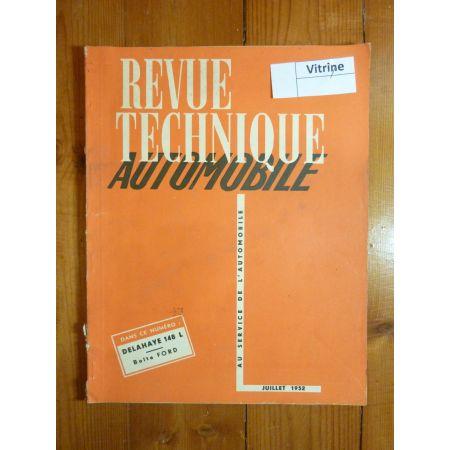 148L Revue Technique Delahaye