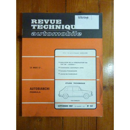 Primula Revue Technique Autobianchi