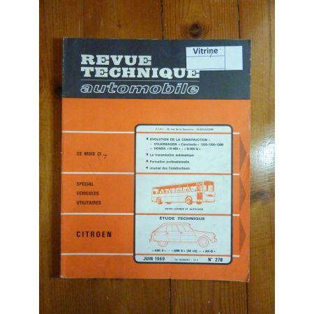 AMI 6 8 Revue Technique Citroen