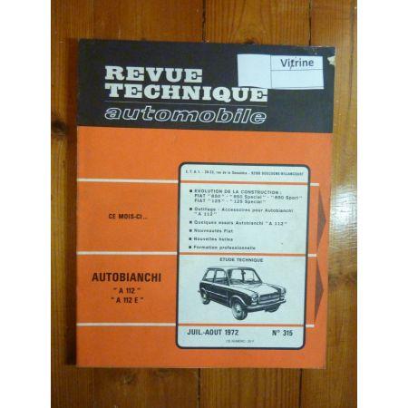 A112 Revue Technique Autobianchi