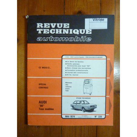 80 Revue Technique Audi