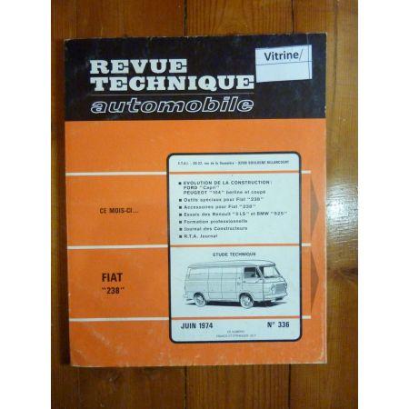 238 Revue Technique Fiat