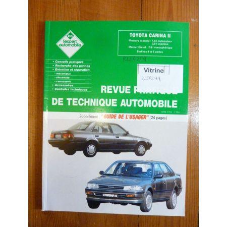 CARINA II Revue Technique Toyota