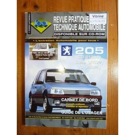 205 Revue Technique Peugeot