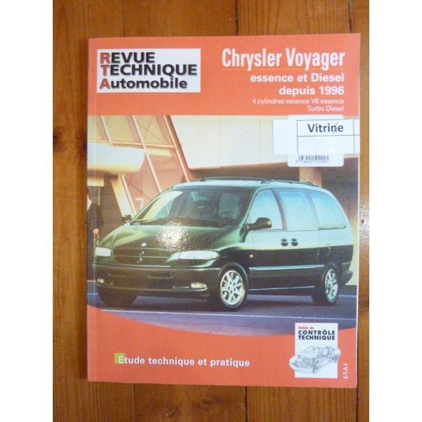 rta revues techniques chrysler voyager essence et diesel depuis 1996. Black Bedroom Furniture Sets. Home Design Ideas