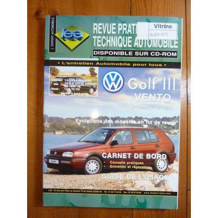 Golf Vento 92-97 Revue Technique VW