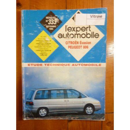 Evasion 806 Revue Technique Citroen Peugeot