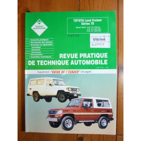 Land Cruiser LJ Revue Technique Toyota