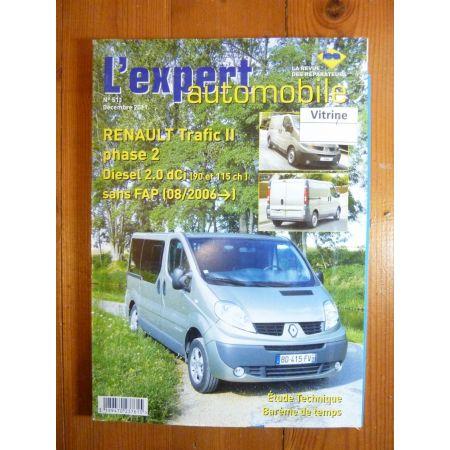 Trafic II Dci 06- Revue Technique Renault